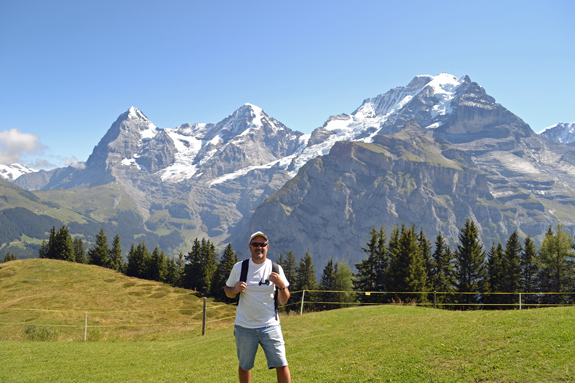 Murren, Switzerland, escape