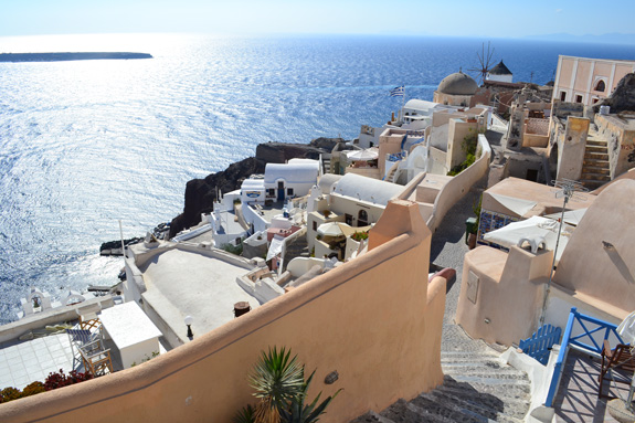 Almost sunset in Fira
