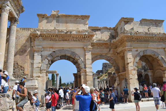 Market gates in Ephesus