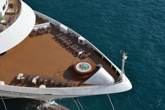 spa on cruise ship