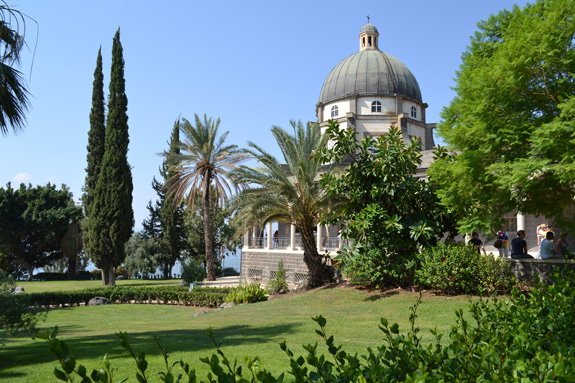 church at Mount of Beatitudes
