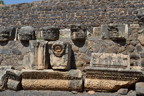 ruins in Capernaum