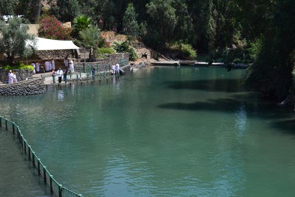 Jordan River in Israel