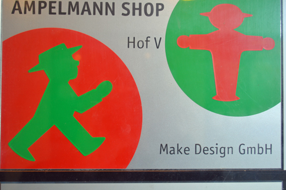 Ampelmann shop in East Berlin, Germany