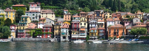 Varenna from the Bellagio ferry