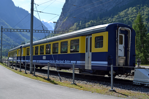 train in Switzerland