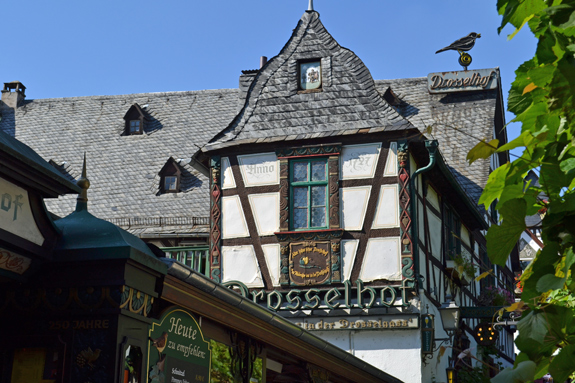 building in Rudesheim, Germany