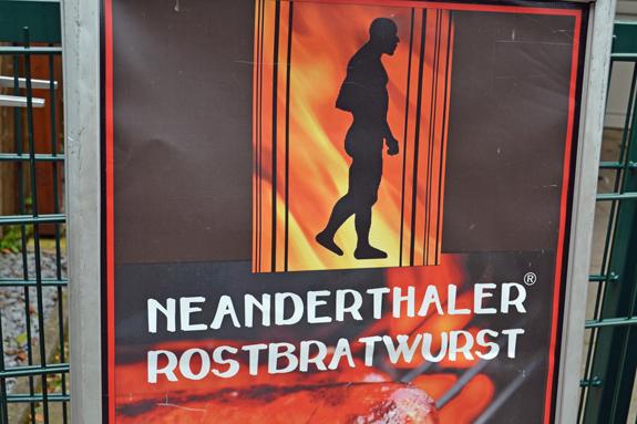 Neanderthal bratwurst