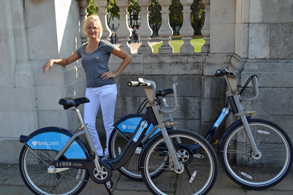 Barclay's Cycle for Hire in London