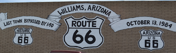 Route 66 in Williams, Arizona