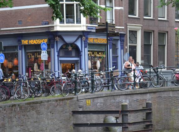 shop in Amsterdam, Netherlands