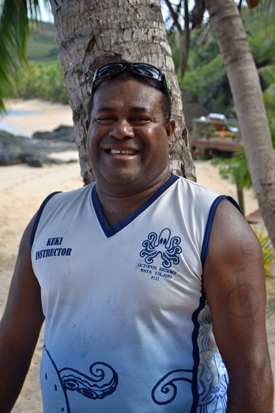 Octopus Resort dive instructor