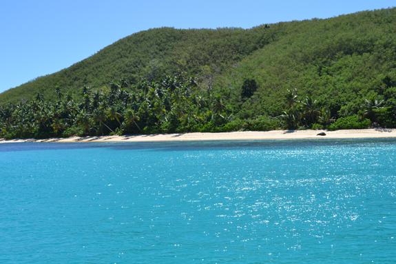 Waya Island waters