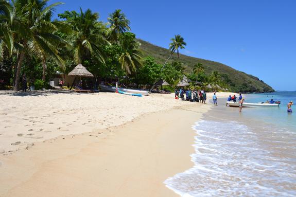 Likuliku Beach on Waya Island