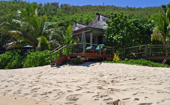 Fiji island hut