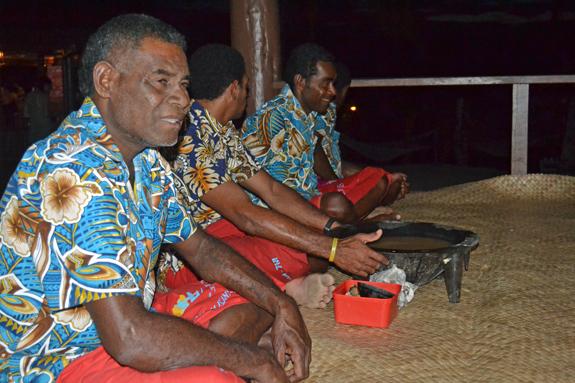 elder man in Fiji