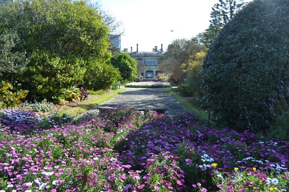 Government House in Sydney's Royal Botanical Garden