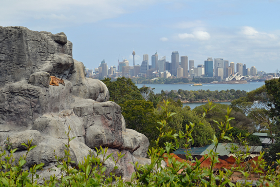 Taronga Zoo view of Sydney