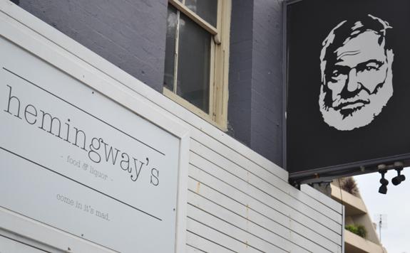 Hemingways cafe