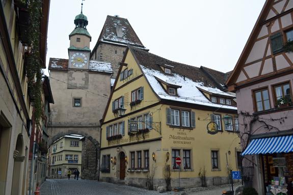 Rothenburg town gate