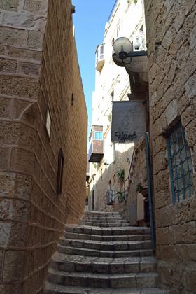 Old Jaffa street.