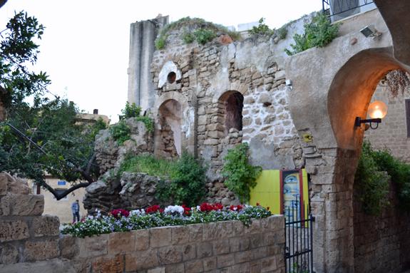 Wall in Old Jaffa.