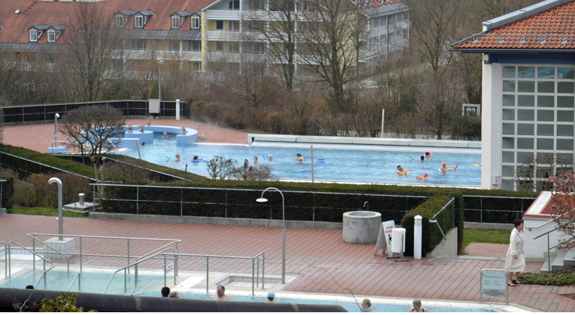 Bad Griesbach outdoor pool