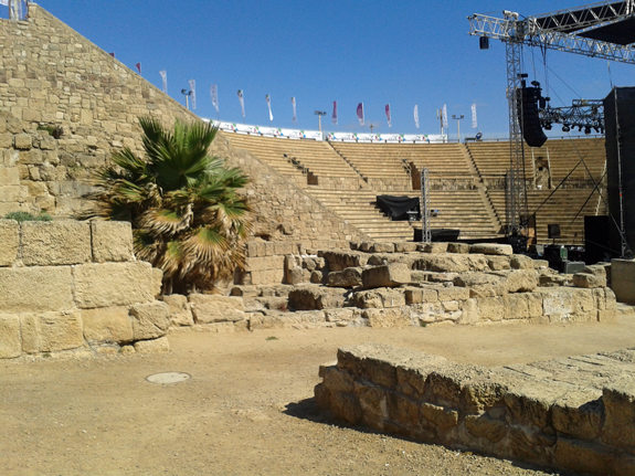 Theater in Caesarea, Israel