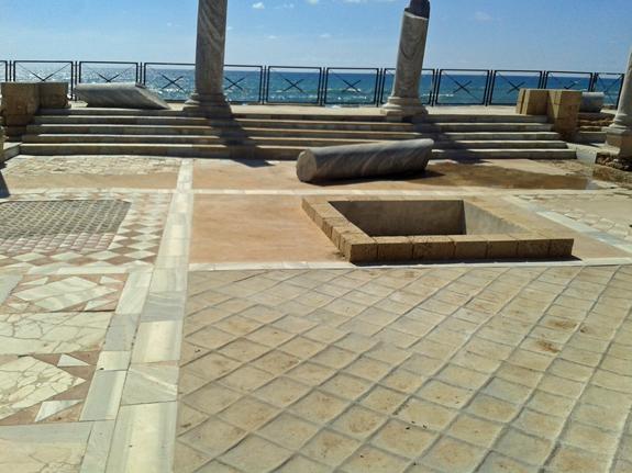 Caesarea, Israel villa