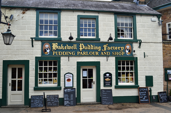Bakewell Pudding Factory in Bakewell, Engand