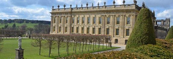 Chatsworth House in Derbyshire