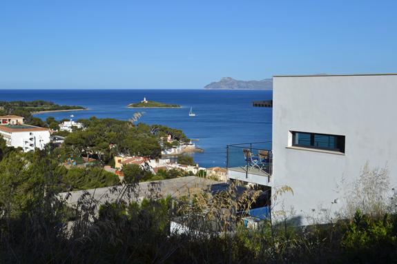 Majorca, Spain villa view