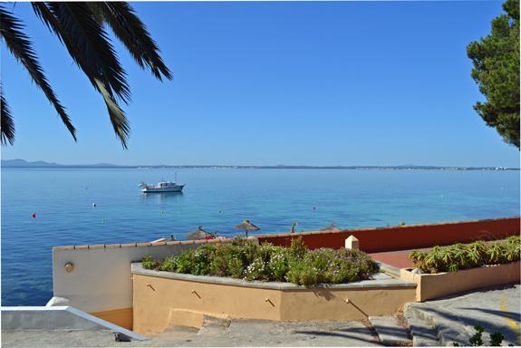 Sunny sea view in Majorca