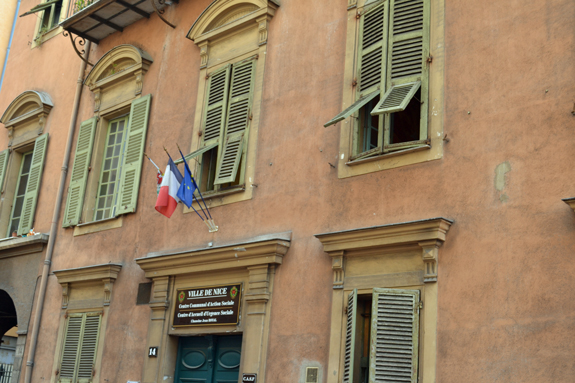 Building in Nice, France