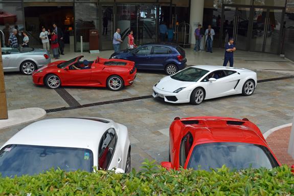 Mone Carlo fancy cars