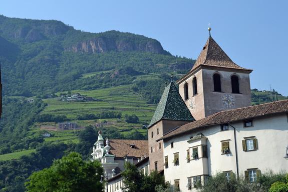 Bolzano, Italy view.
