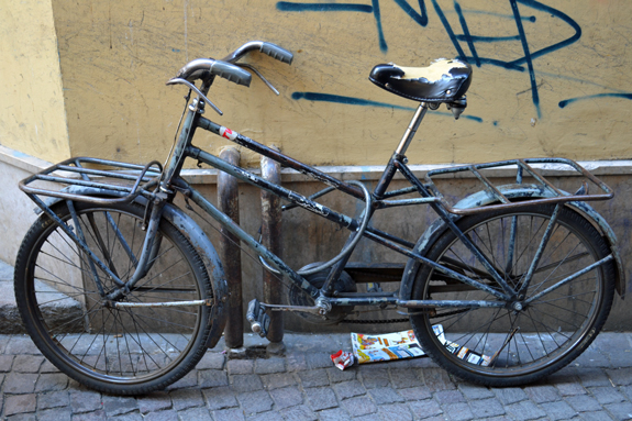 old bike in Bolzano