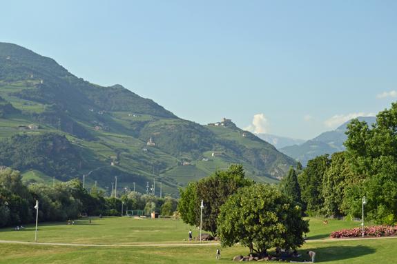 Alps view near Bolzano.
