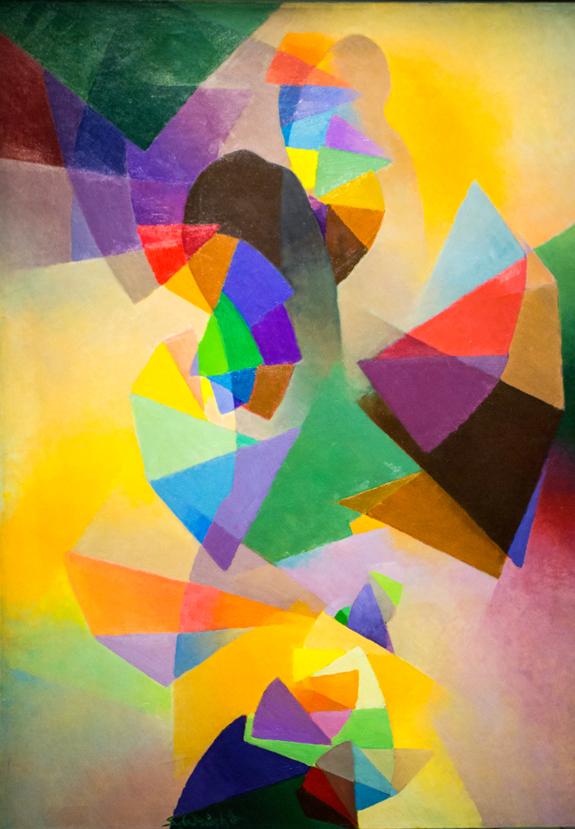 MacDonald-Wright art