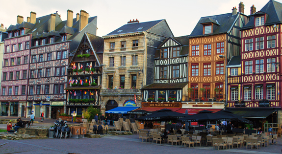 Buildings in Rouen