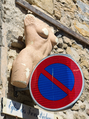 French road sign.