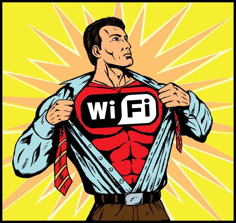 WiFi Superman