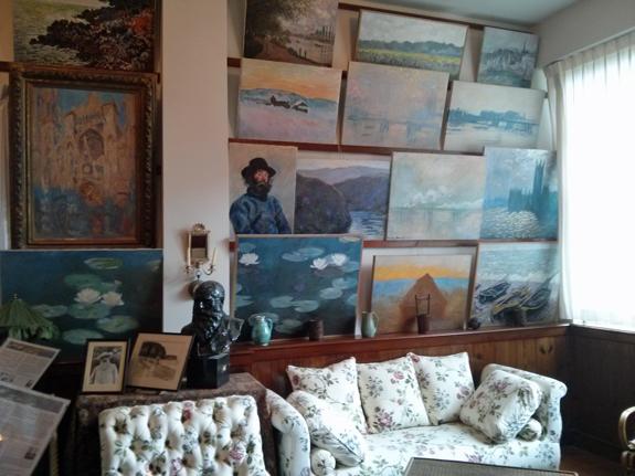 Monet's study