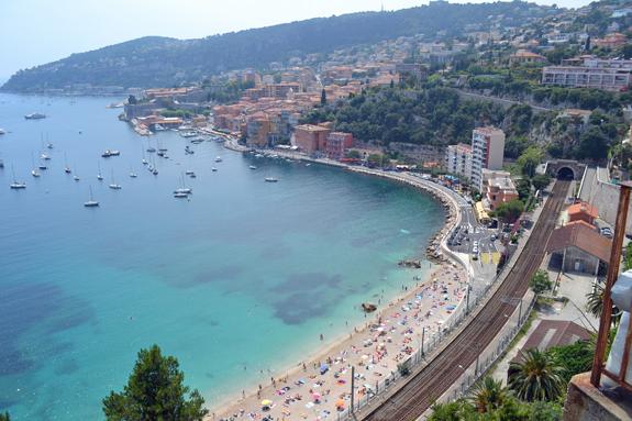 Riviera scene