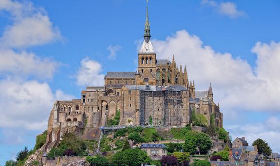 Mont Saint-Michel close up