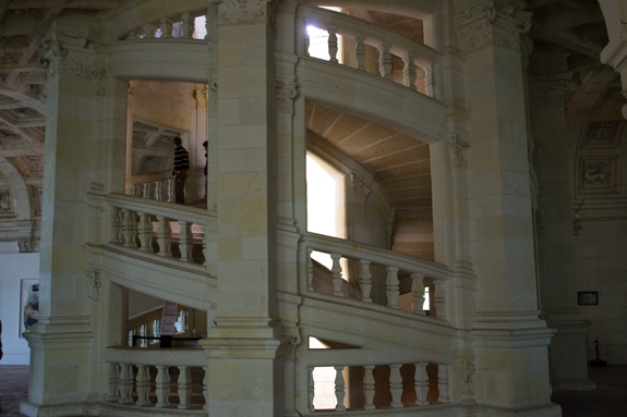 Staircase at Chambord