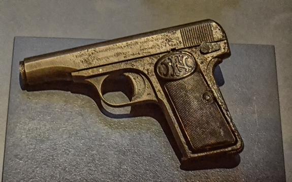 Princip's pistol
