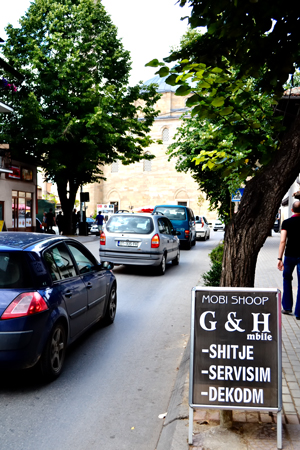 Pristina street scene