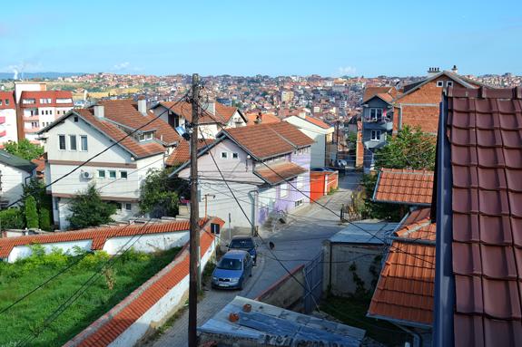 Pristina view