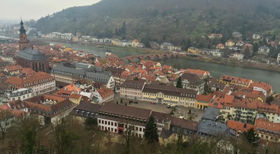 Altstadt of Heidelberg